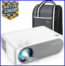 VANKYO Performance V630 Native 1080P Full HD Projector, 6500 Lumens 300 LED