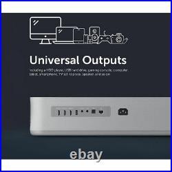 VAVA 4K Projector with Wi-Fi UHD Ultra-Short Throw Laser Smart TV 2500 Lumens W