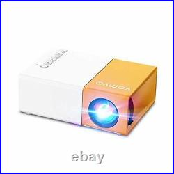 Vamvo Projector, YG300 pro Mini Projector, Portable Movie Projector 1080p