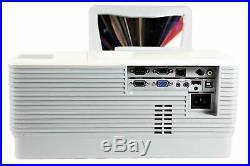 ViviTek D791ST Ultra Short-Throw DLP Projector 3000 ANSI HD 1080i/p HDMI Remote