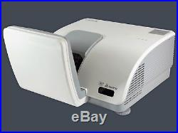 ViviTek D791ST Ultra Short-Throw DLP Projector 3000 ANSI HD 1080i/p HDMI bundle