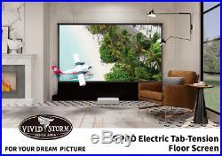 Vividstorm ALR 120 UST 4K Electric Floor Rising Projector Screen EU Model