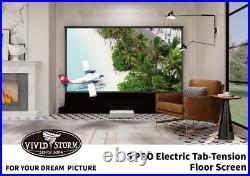 Vividstorm ALR 92 UST 4K Electric Floor Projector Screen S Pro