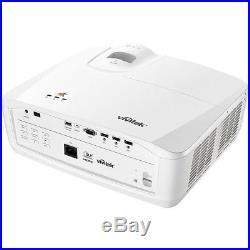 Vivitek HK2288 4K DLP HDR High Dynamic Range Projector Bundle (White)