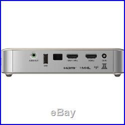 Vivitek Qumi Q6 800 Lumen WXGA 720p HD LED Wireless Pocket Projector Gold