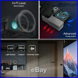 WiFi 3D Full HD 1080P DLP Projector Mini Home Cinema Portable Full HD USB HDMI