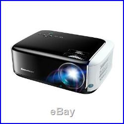 WiFi 4K 3D 1080P 12000Lumen LCD Projector Home Theater Android 6.0 Bluetooth 8GB