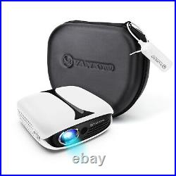WiFi Video Projector 3D HD 1080P DLP Projector Home Theater Cinema Rechargeable