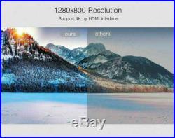 Wifi 3D 4K 8500 Lumens DLP Home Theater Projector HD 1080P Cinema HDMI/USB/RJ45