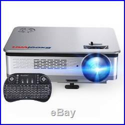 Wifi Smart Home Projector 4K 1080P LED Android 6.0 Theater HDMI VGA USB 3200LM