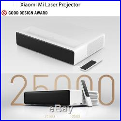 Xiaomi Mi Full HD 4K Android 6.0 Laser Projector 0.47 DMD ALPD 3.0 5000 Lumens
