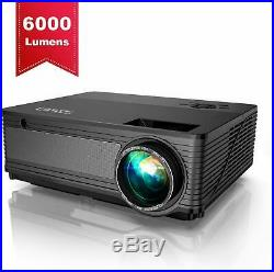 YABER Native 1080P Projector 6000 Lux Upgraded Full HD Video Projector 1920 x