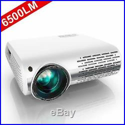 YABER Native 1080P Projector 6500 Lumens Upgraded Full HD Video Projector 1920
