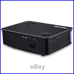 Z720 7000 Lumens HD 1080P LED Projector Home Theater Cinema HDMI USB VGA AV New